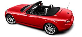 Mazda MX5 Tech - Top Down