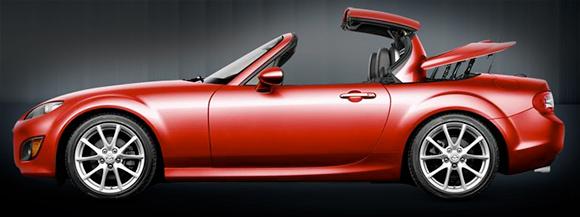 Mazda MX5 Miata Hard Top Folding