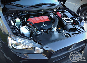 Mitsubishi Evo X Engine Bay
