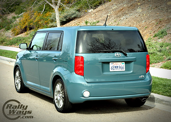 New Scion XB Rear Angle