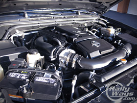 Nissan Xterra Engine Bay Cleaning
