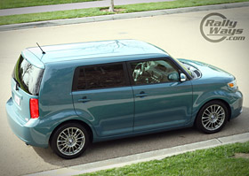 Scion XB 2008 Top Angle