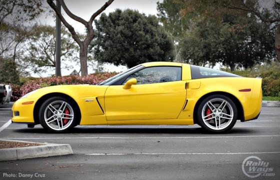 Yellow Vette Z06