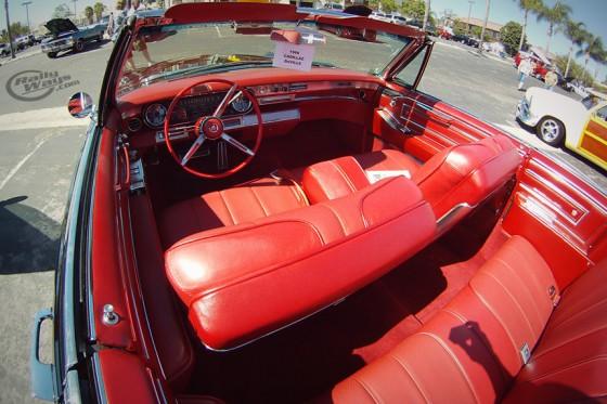 1966 Cadillac DeVille Red Interior