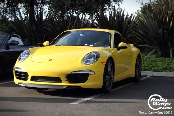 2012 991 Porsche 911