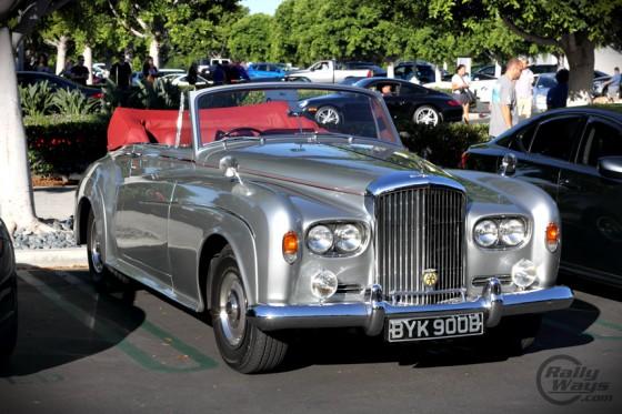 Classic Bentley Convertible