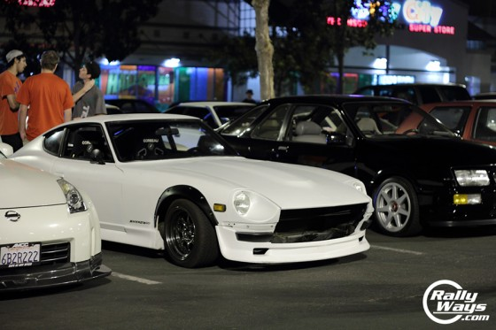 Datsun 240ZX Tacos and Tuners