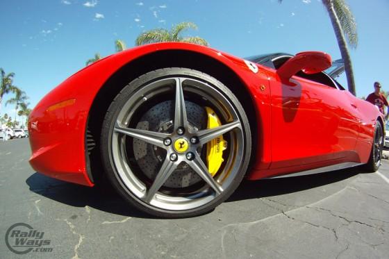 Ferrari 458 Italia Brakes