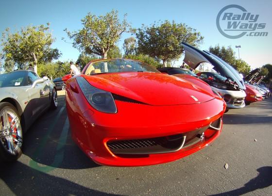 Ferrari 458 Italia GoPro Hero Shot