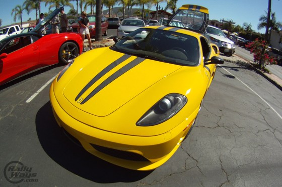 Ferrari F430 Escuderia Yellow
