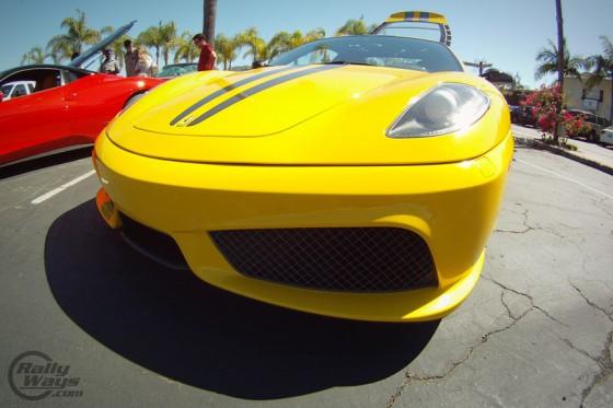 Ferrari F430 Escuderia GoPro Shot