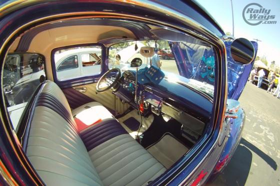 Hot Rod Pickup Truck Interior