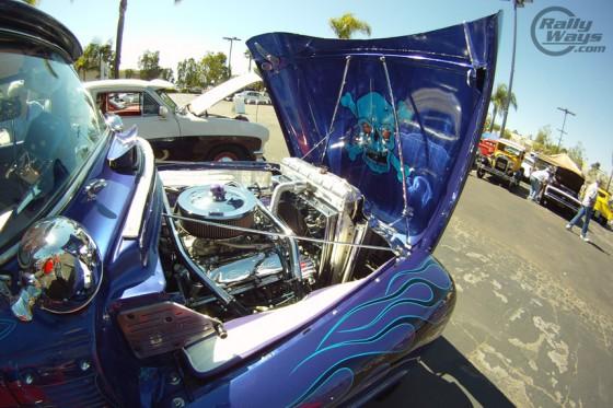 Hot Rod Pickup Truck Engine