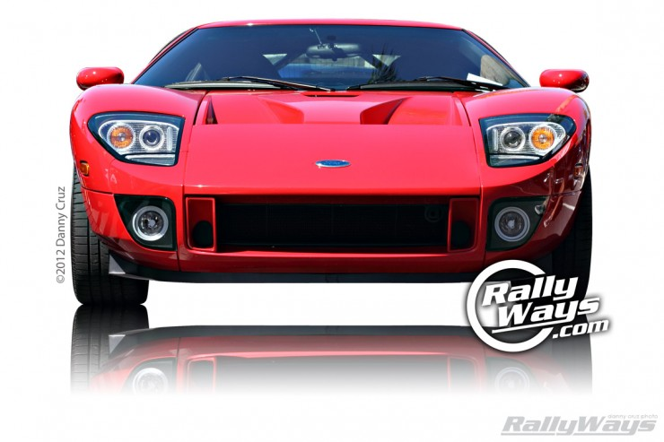 Car Show Sundays Ford GT Cover