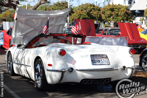 1953 Commemorative Edition Corvette Rear