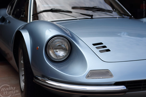 1973 Ferrari Dino GT Close Up