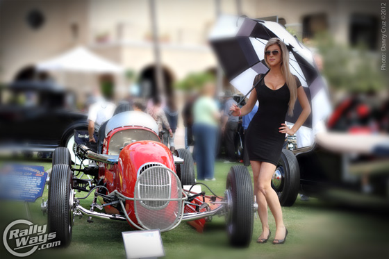 Concours D'Elegance Race Cars and Girls