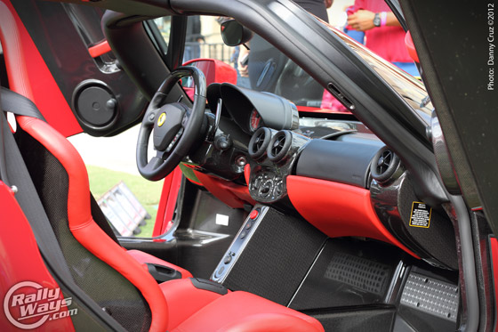 Ferrari Enzo Cockpit