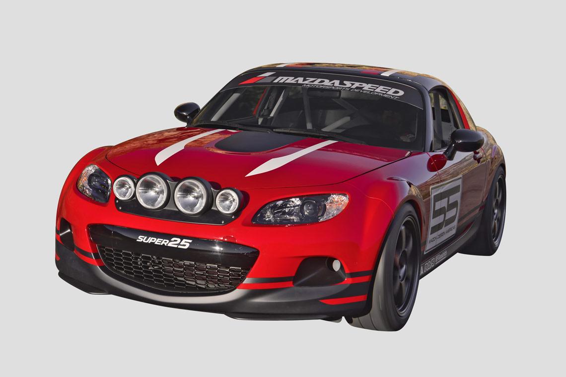 Multi-Eyed Mazda Super 25 SEMA 2012 Show Miata - RallyWays