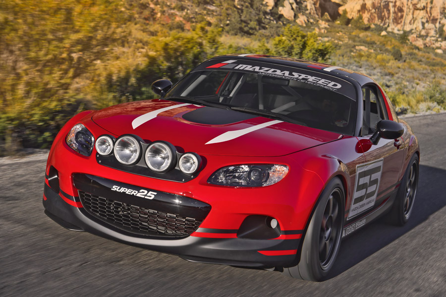 Multi Eyed Mazda Super 25 Sema 2012 Show Miata Rallyways