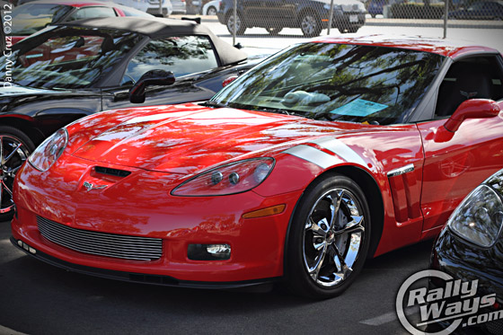 Vettes for Veterans Grand Sport Corvette