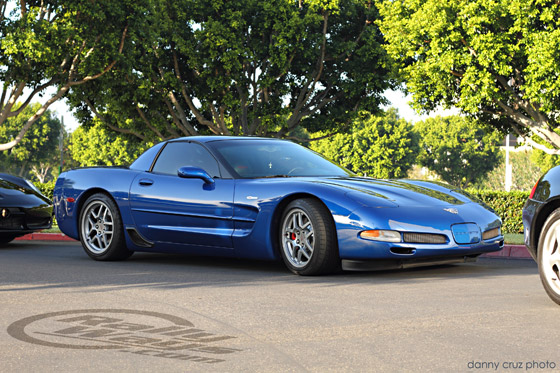 Corvette C5 Z06 in Electron Blue