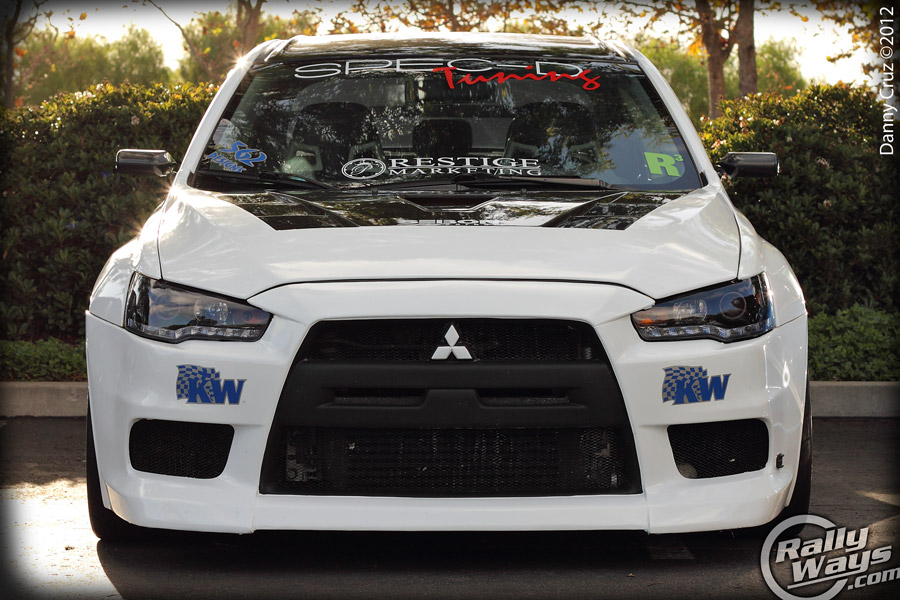 Mitsubishi evo x sema 2012 show car