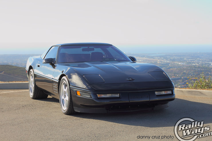 1991 Corvette Zr1 C4 Pristine Black Beauty Rallyways