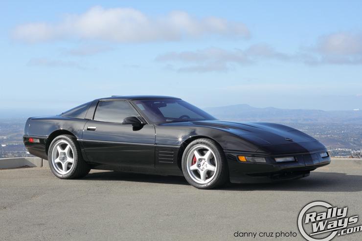 1991 Corvette Zr1 C4 Pristine Black Beauty Rallyways
