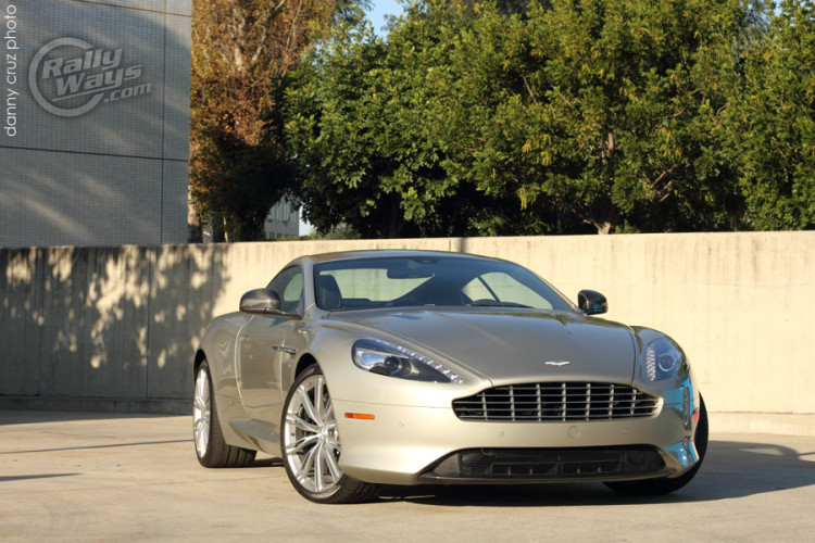 Aston Martin DB9 from Cars and Coffee Irvine