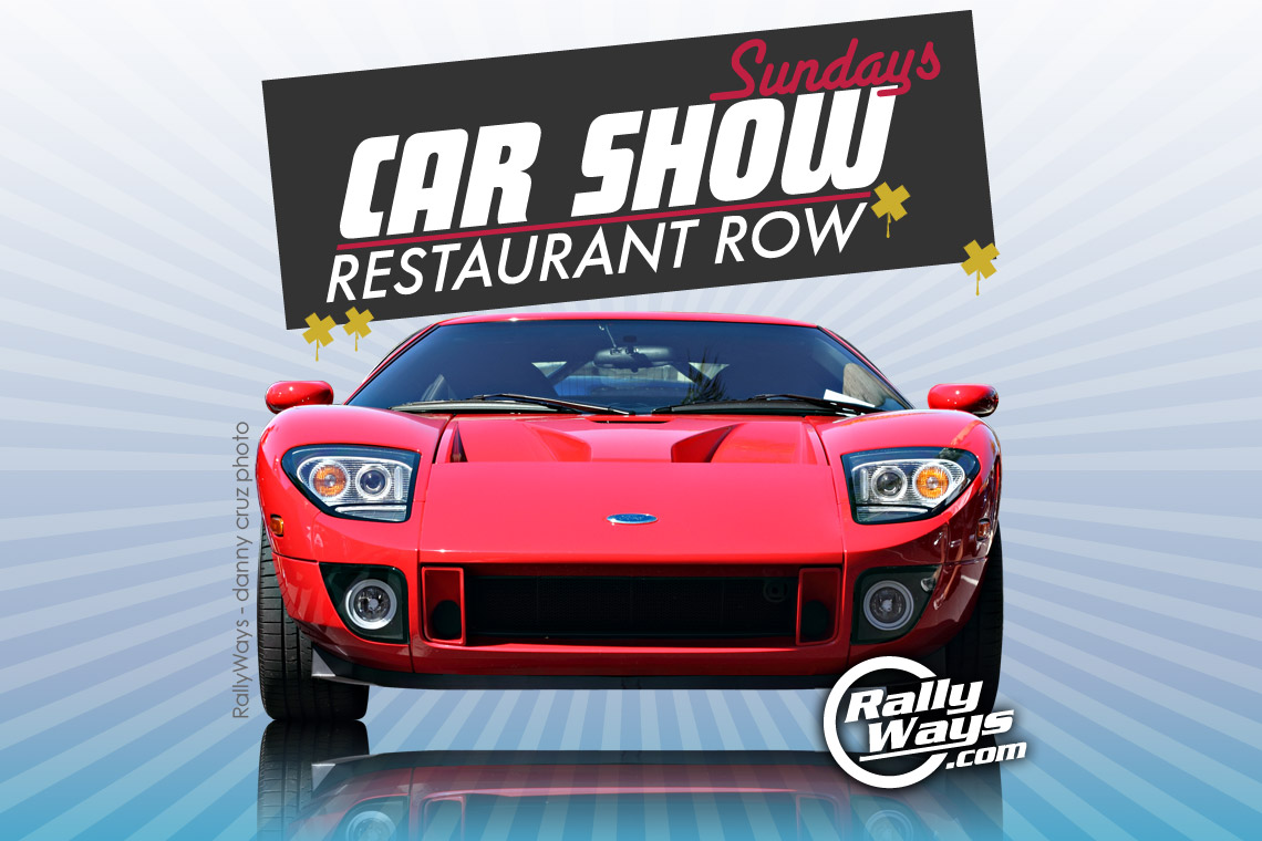 Car Show Sundays Restaurant Row Event