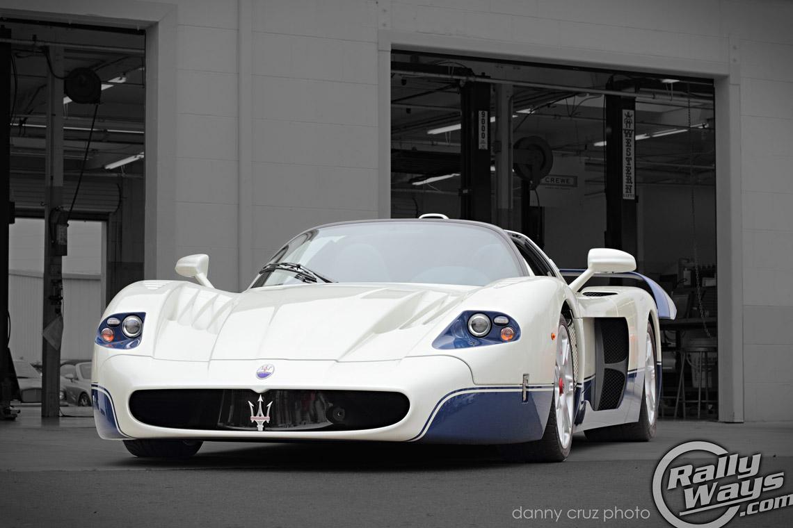 Amazing Maserati Mc12 Photographed At Symbolic Motors San