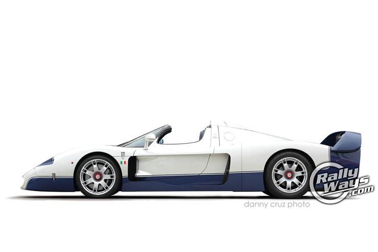 Maserati MC12 Profile