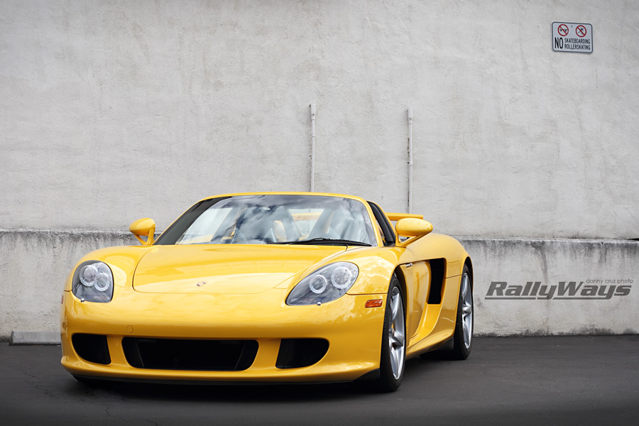 Porsche Carrera GT Fayence Yellow