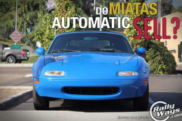 Smurf Miata Automatic