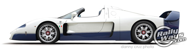 2005 Maserati MC12 Profile