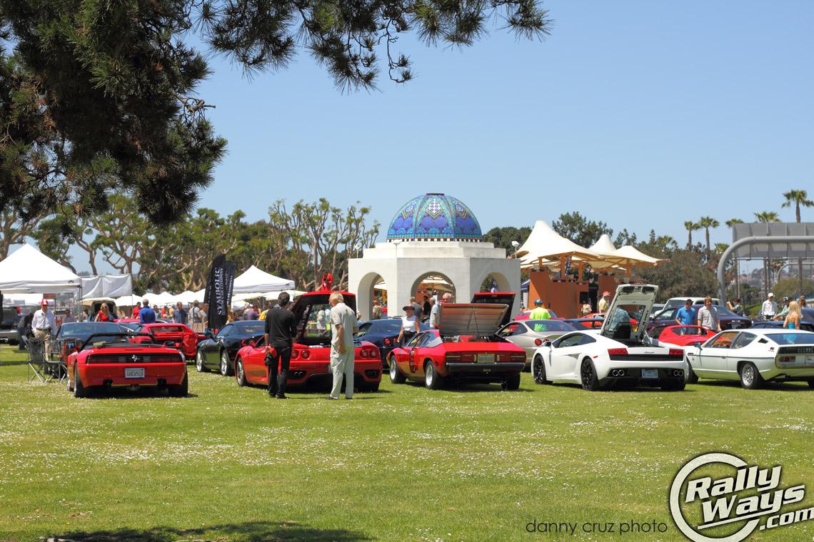 Bella Italia Exotic Car Show In San Diego California