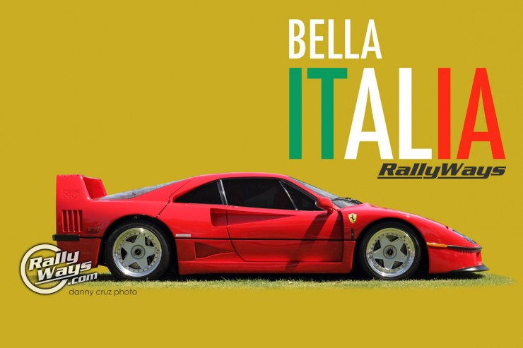 Bella Italia Car Show