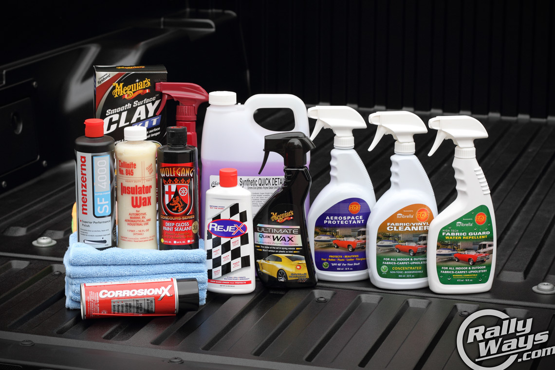 awesome bunch of the best car detailing products rallyways
