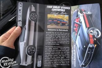 Retrobuilt Shelby Brochure
