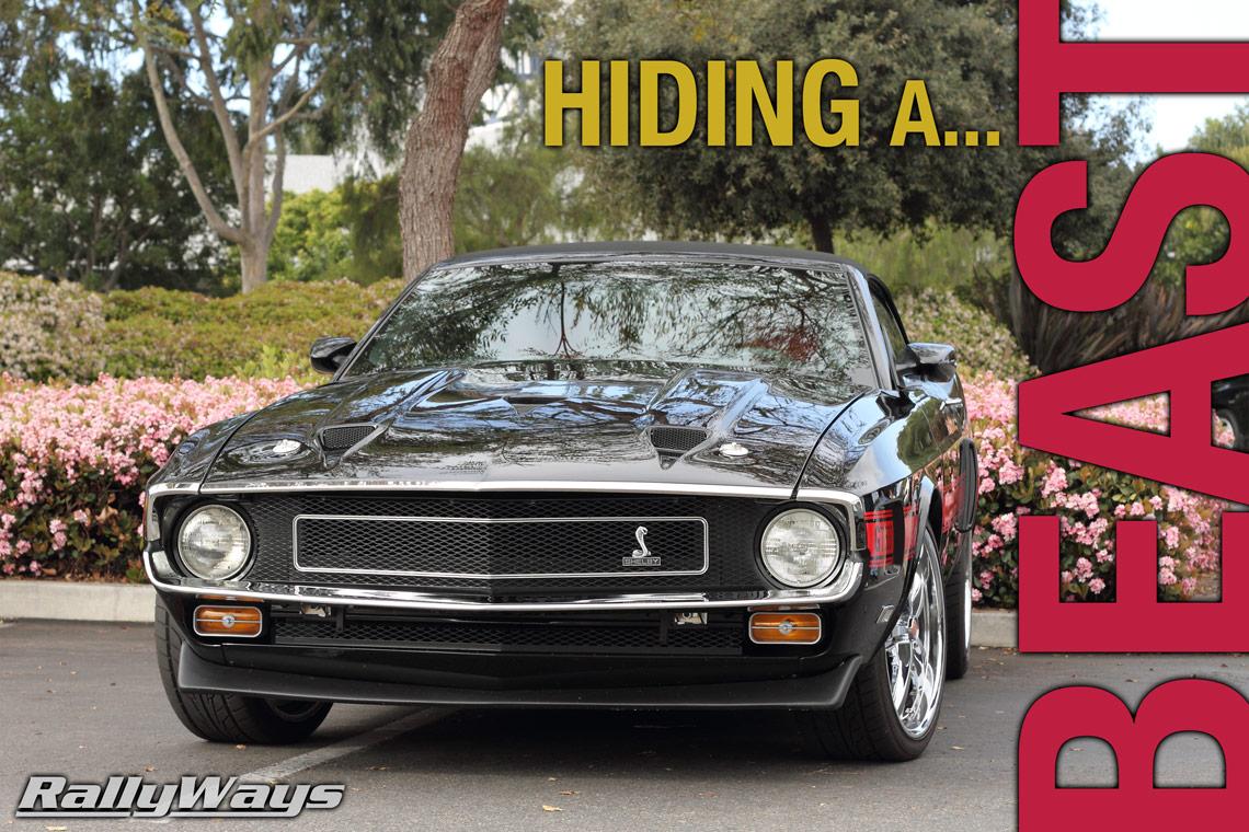 Retrobuilt 1969 Shelby GT500 CS Hides a 2013 Shelby GT500