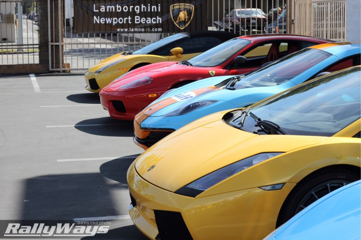 Super Cars at Lamborghini of Newport Beach
