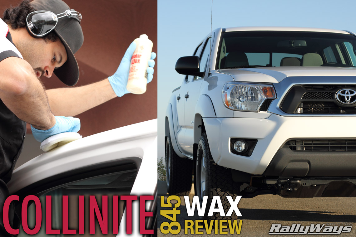 Collinite 845 Review Liquid Insulator Wax Layering