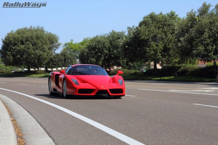 2003 Ferrari Enzo Leaving Cbad Cars