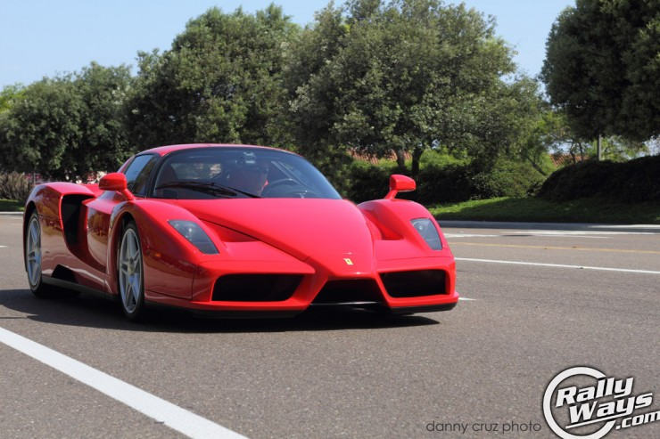 2003 Ferrari Enzo Dazzles Cbad Cars and Coffee