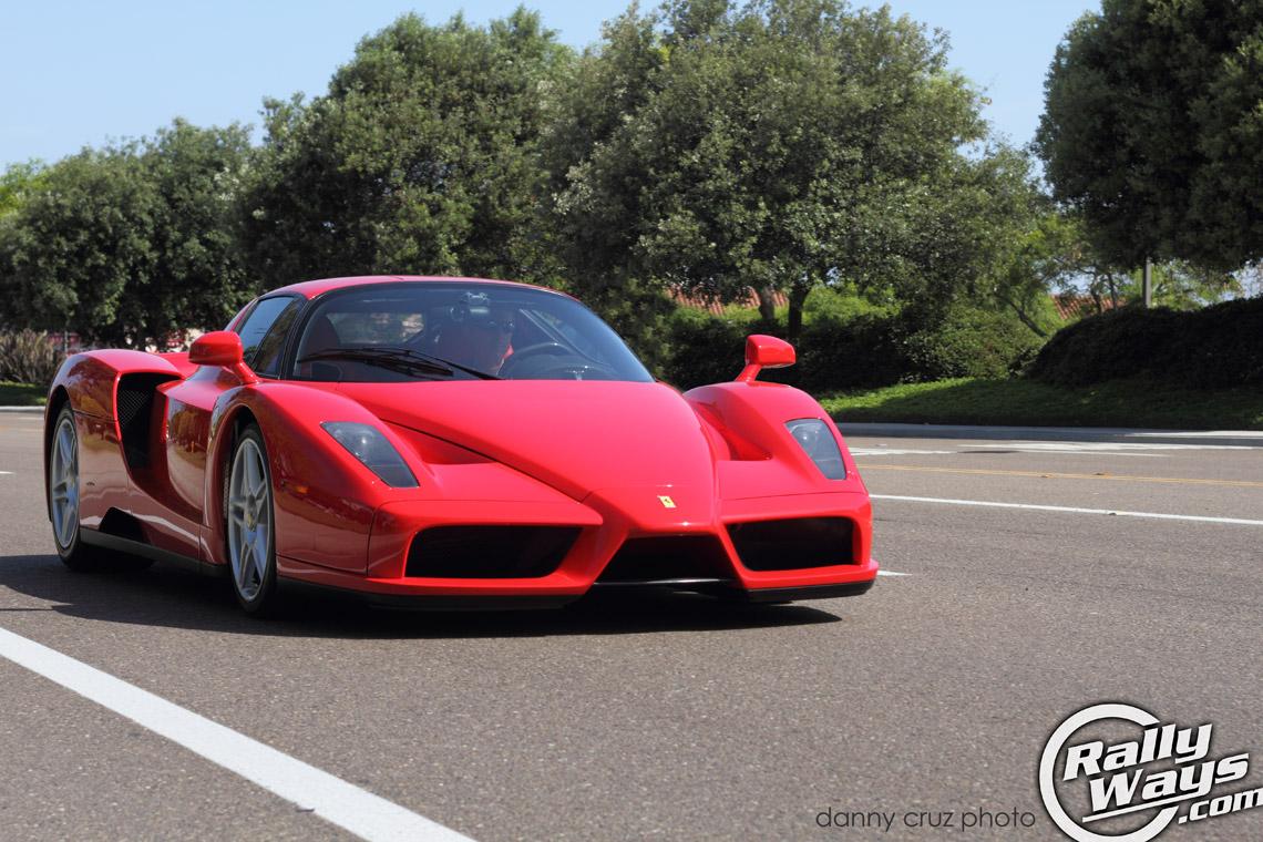 2003 Ferrari Enzo Dazzles Cbad Cars and Coffee
