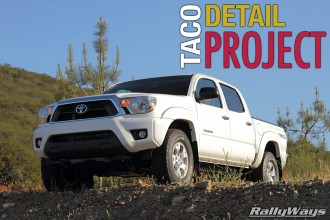 Ultimate 28-Hour New Car Detailing – RallyWays Toyota Tacoma TRD