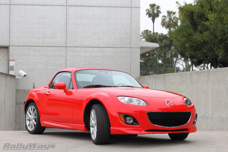 2011 Mazda MX-5 Miata PRHT NC True Red