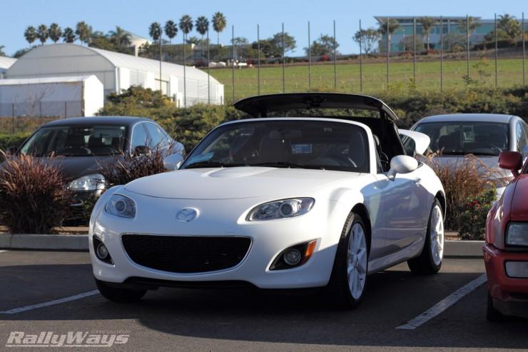 2012 Mazda MX-5 Pearl White