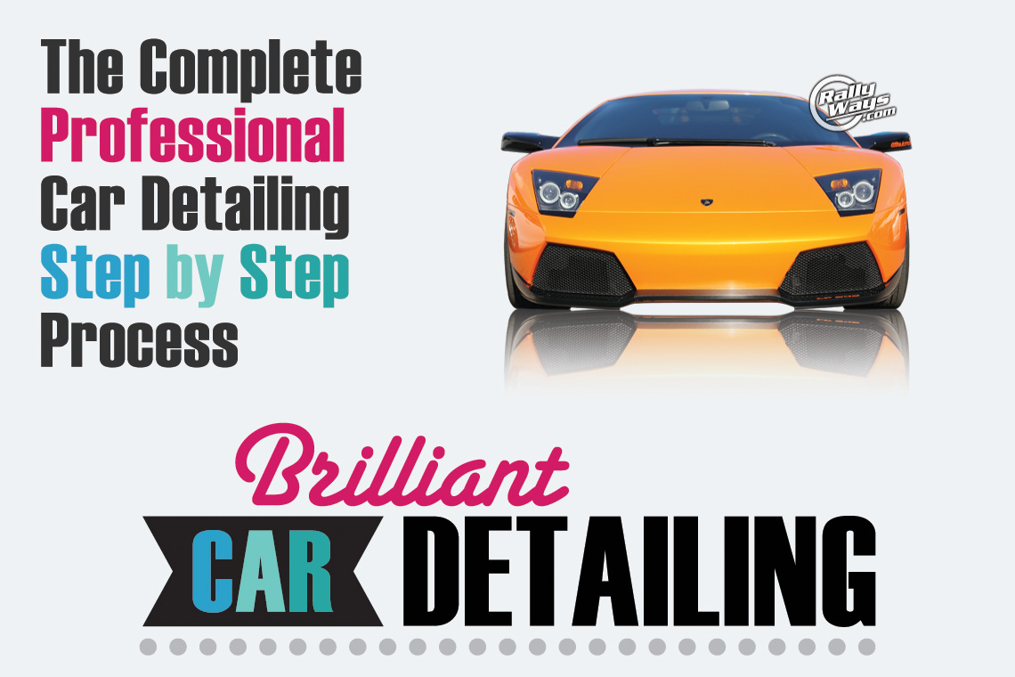 Complete Professional Car Detailing Step By Step Process